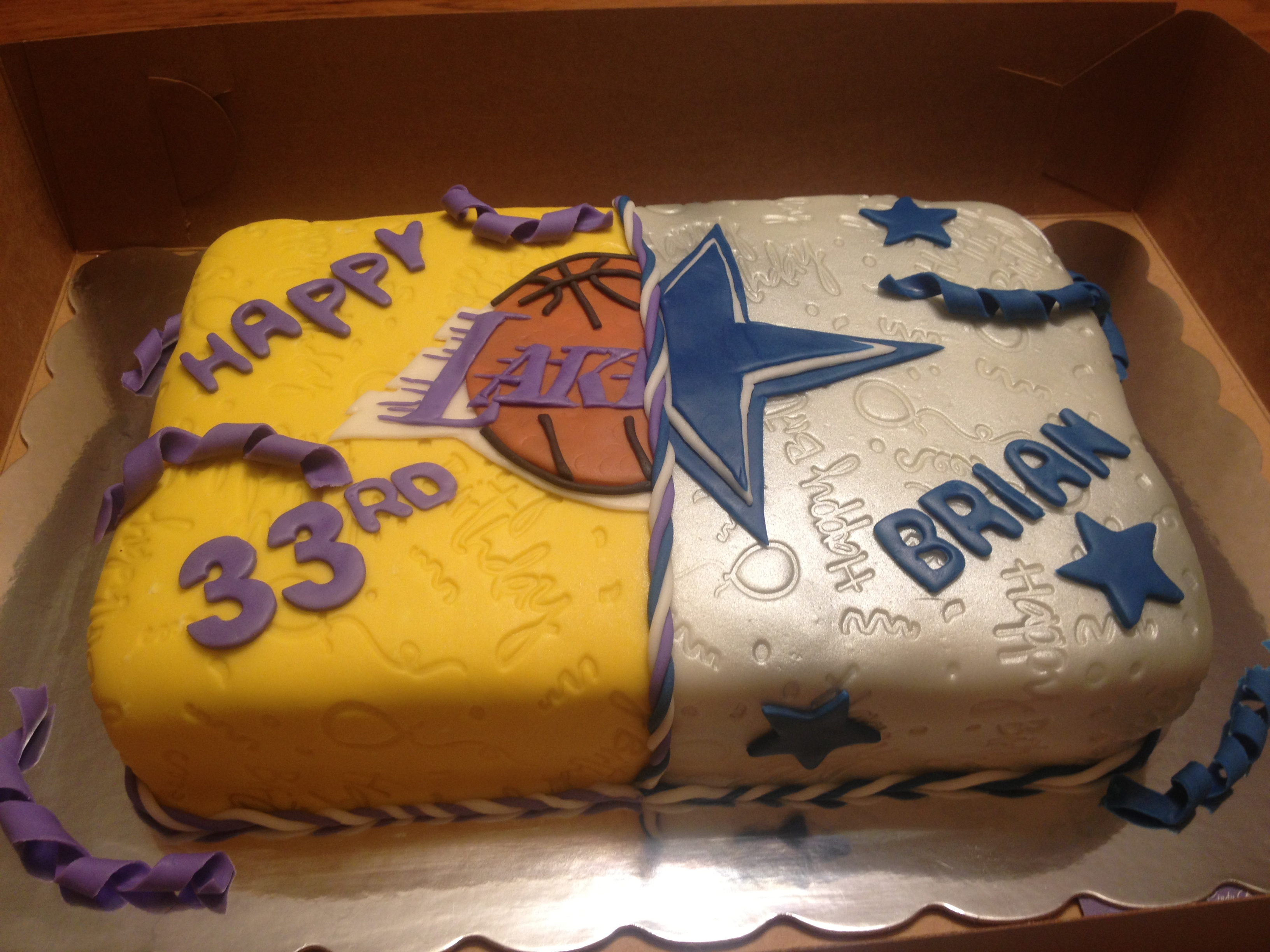 Cakes Lakers Birthday Cake Ideas And Designs