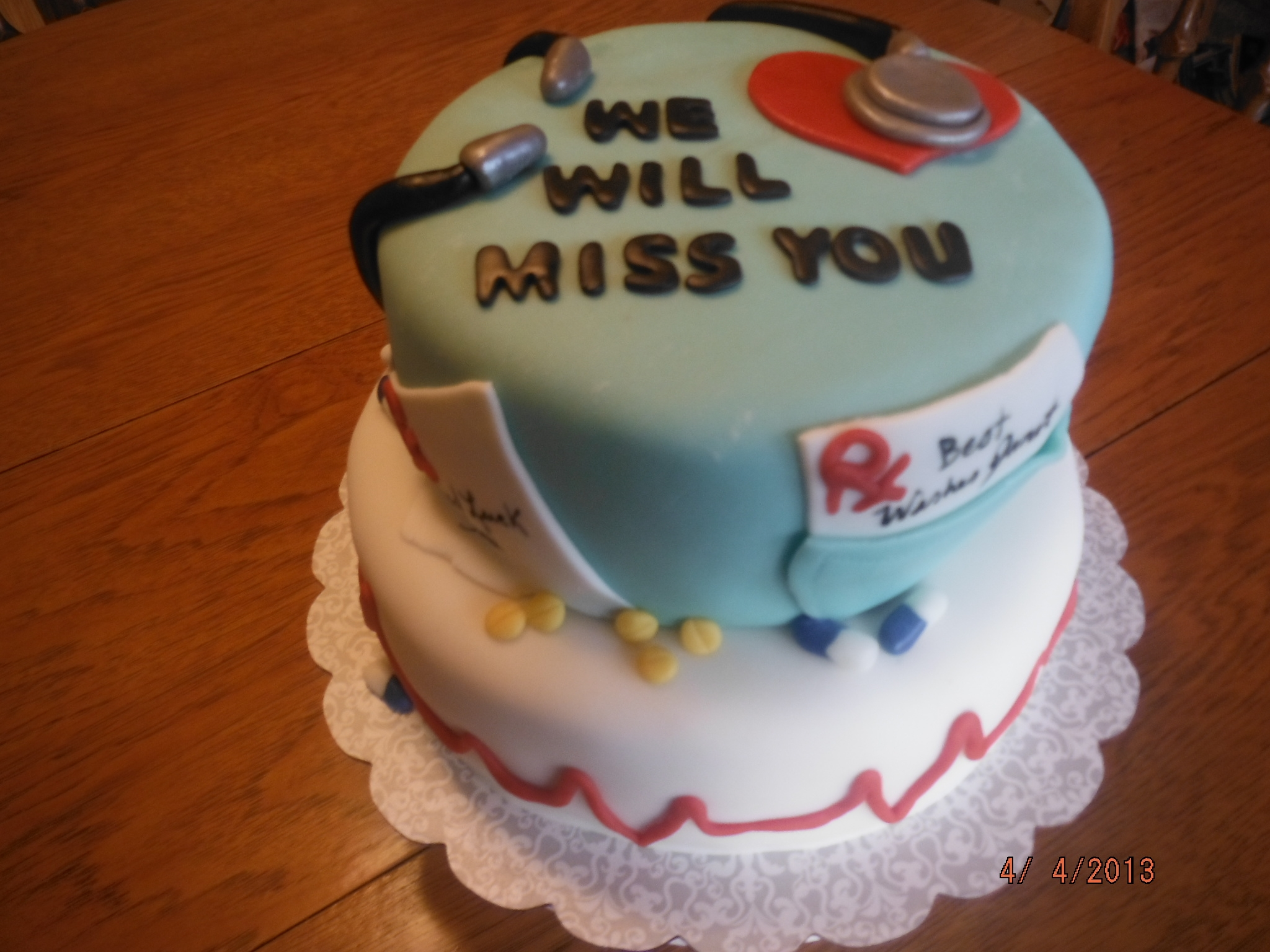 Cake Art Affair : Funny Going Away Cakes just b.CAUSE